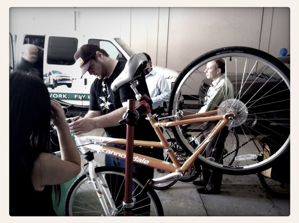 Rideshare Olympics 2012 bicycle Bicycle Tuneup