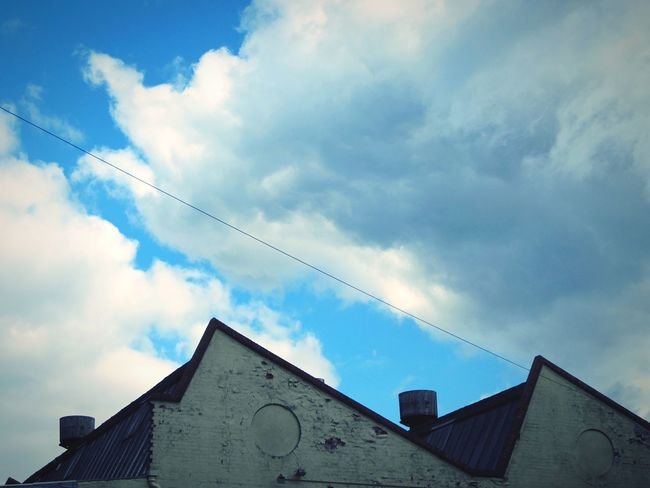 ◽urban geometry◽ 1950's Style Triangle Angles And Lines Hello World Minimal Landscape Urban Photography Minimalobsession Minimalist Deceptively Beautiful Urban Geometry Learn & Shoot: Simplicity Sky_collection Pastel Blue April 2016 Simplicity Old Buildings Architecture_collection
