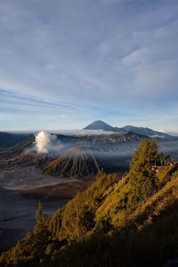 Mountain Cloud - Sky Scenics Beauty In Nature Bromo INDONESIA The Week On EyeEm No People