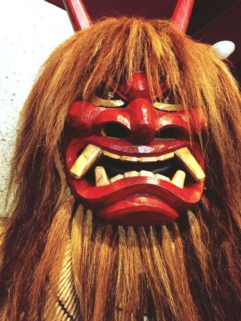 namahage Japan 鬼 ONI Afraid