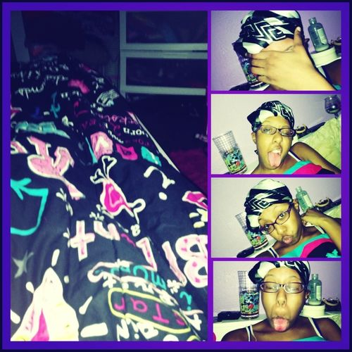In my bed bored