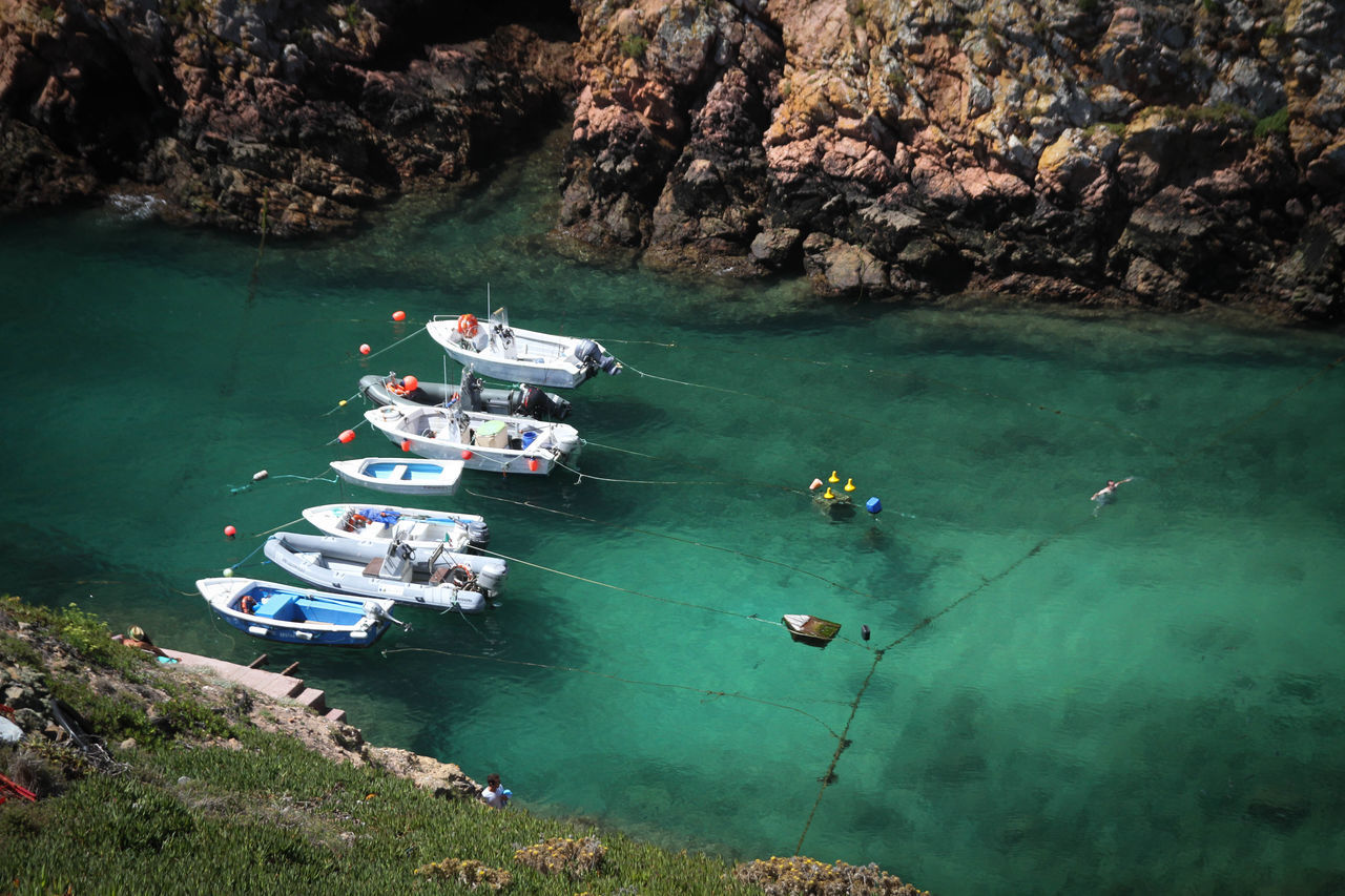 Beautiful stock photos of portugal, Boat, Day, High Angle View, Mode Of Transport