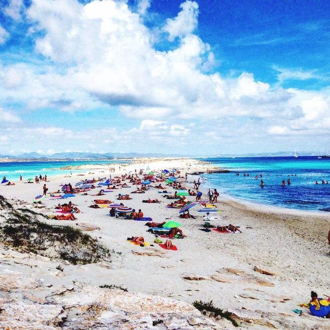 Beach Vacations Sea Formentera Island First Eyeem Photo