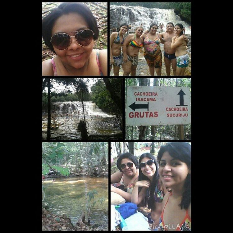 Sobre ontem, nosso primeiro passeio de 2015 Presidentefigueiredo Cachoeiras  Asframa Iracema Grutas Myfamily