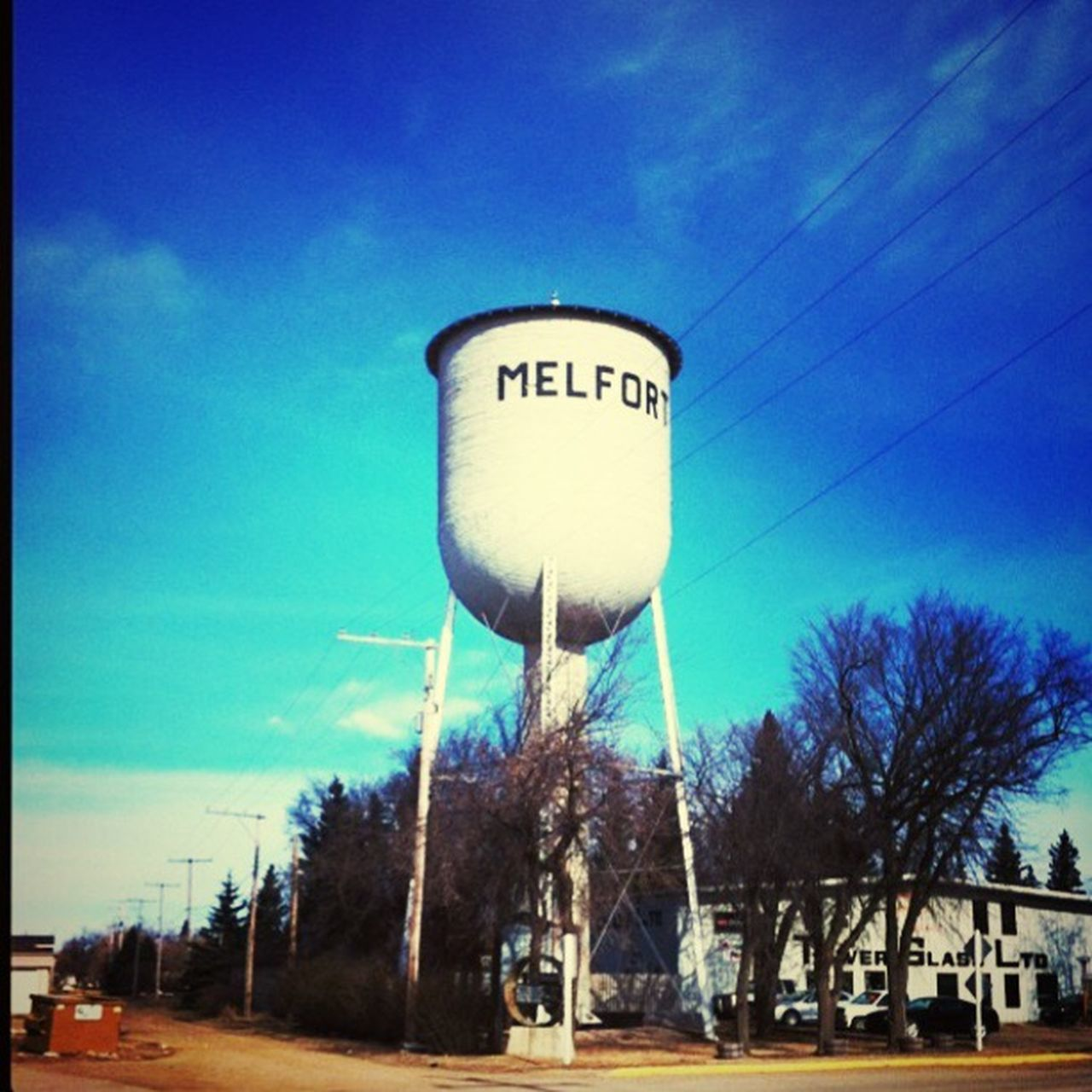 Melfort Road trip, Canada & USA Tree Blue Sky Tower Day Outdoors Tall Tall - High City Life Tranquil Scene Roadtrip Canada