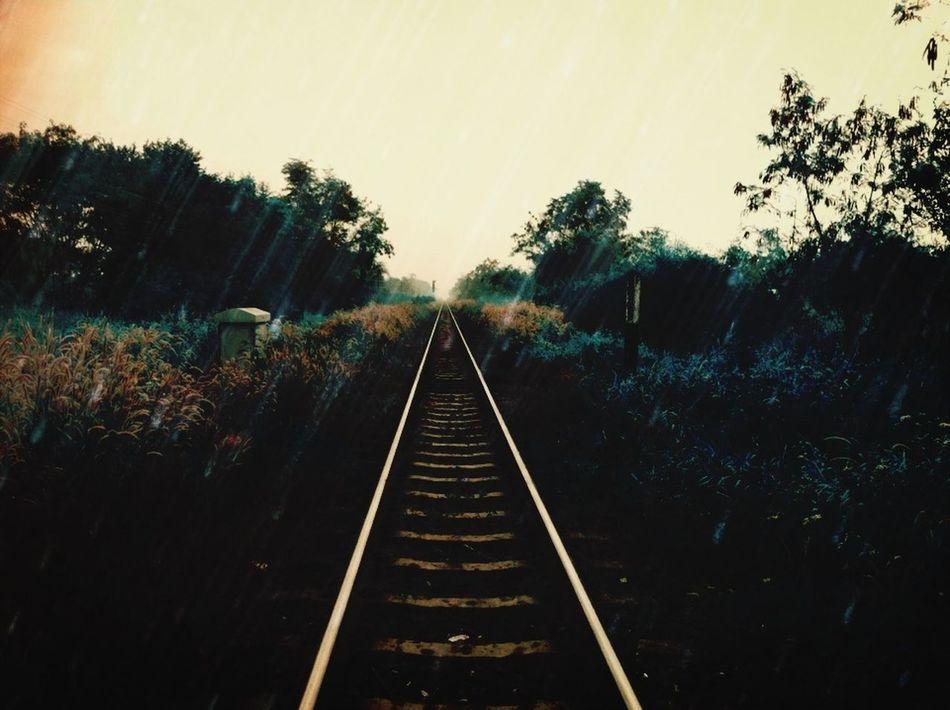 Undefined Railroad Imagination Raining
