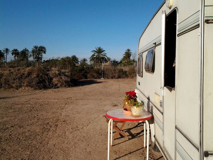 Mobile home Campinglife Camping Adventure Camping Spain_beautiful_landscapes Spain_vacations Costa Blanca Holiday Alicante Province Spain Spainphotographer Freedom Costa Blanca Spain ✈️🇪🇸 Adventure Chair Sky Tree Motor Home Day Table