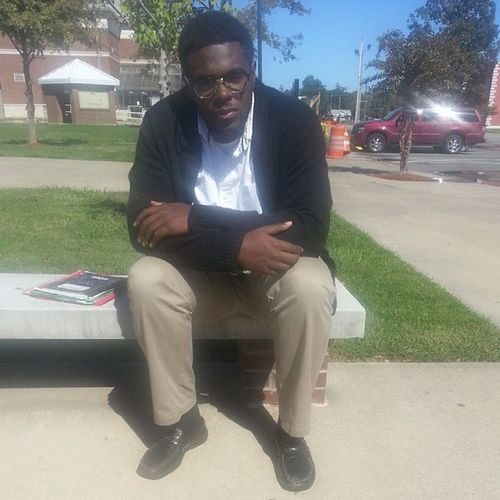 Waiting for class.... Senior UAPB14