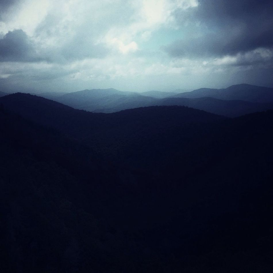 Scenic Landscape Mountains Moody