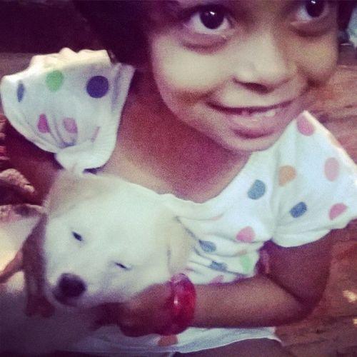 Puppy Little Girl Nandootty :)