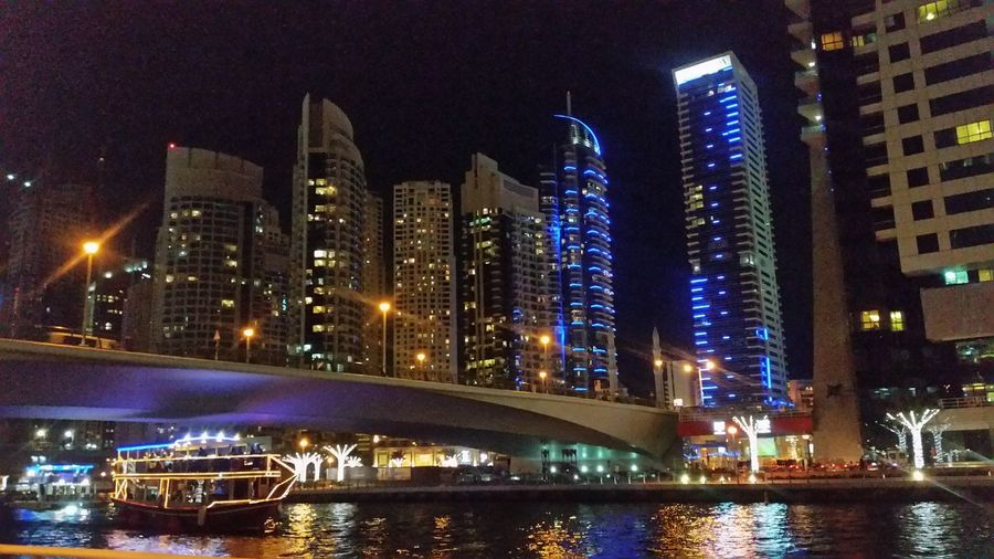 The Architect - 2016 EyeEm Awards Dubai Dubaimarina City Lights Cities At Night Battle Of The Cities Overnight Success