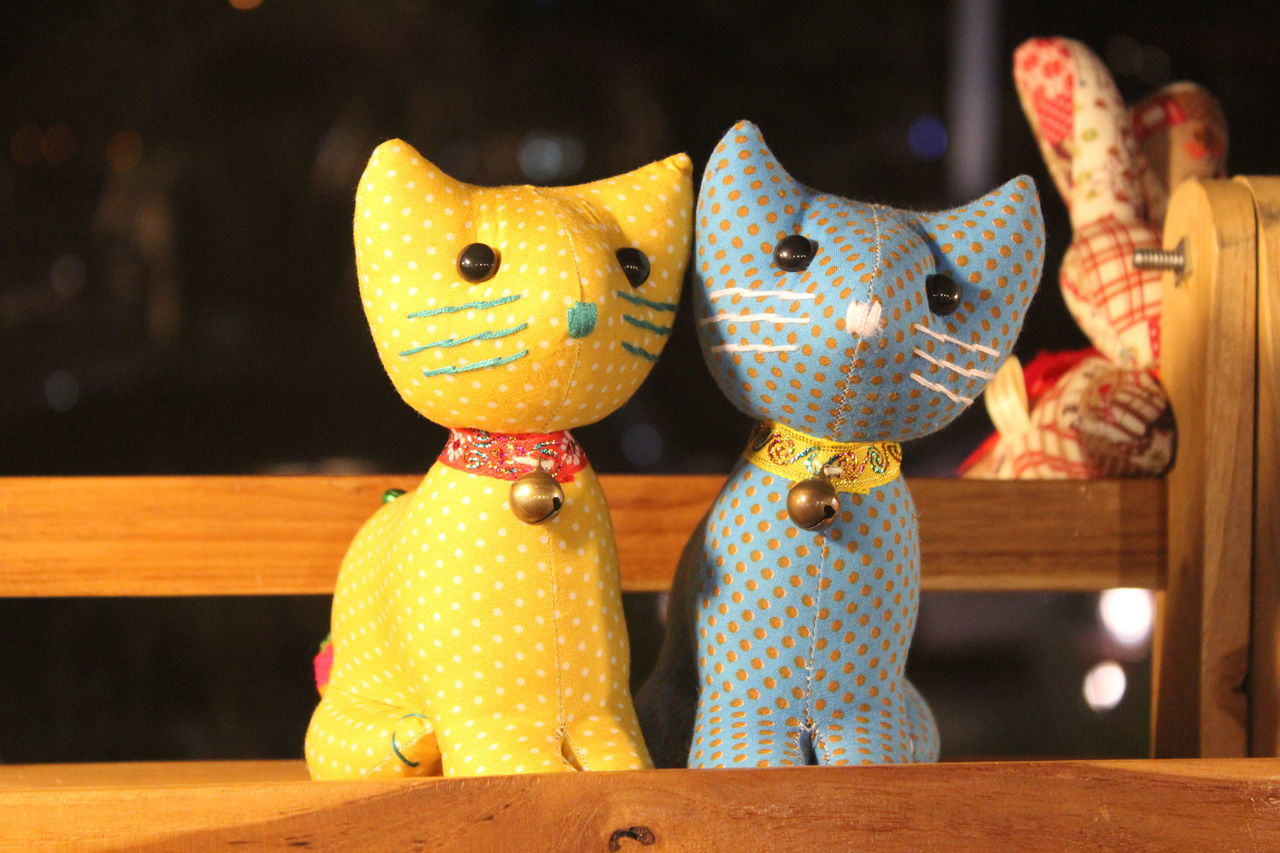 Close-up Day Doll Doll Cat Dolls Handmade No People Table Toy Photography Toycat