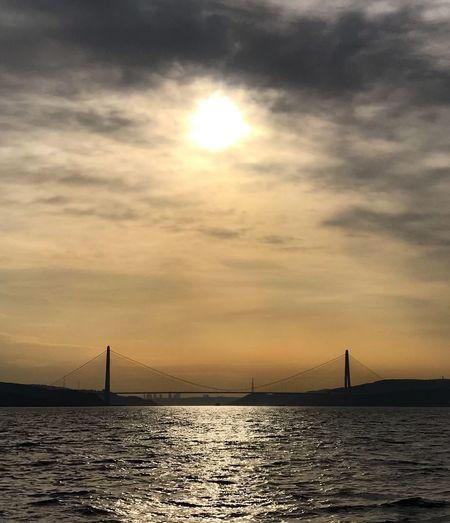 Sunset Bridge - Man Made Structure Bridge Istanbul