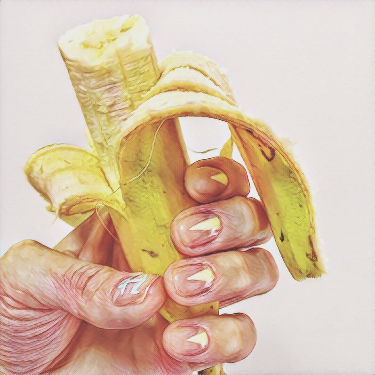 Бумерангребят Hello World банан Fingers Shellac