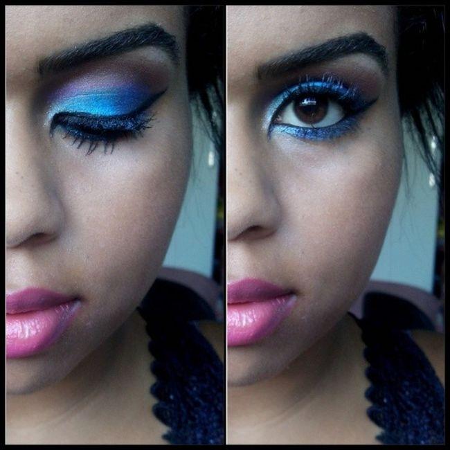 Resolver gastar meu tempo em algo que prester e fazer uma Makeup inspirada no carnaval. Taí uma palinha como ficou (: Makeupdecarnaval Maquiagem Crazysformakes loucaspormaquiagens nofilter