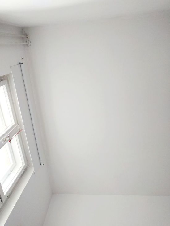 Indoors  Architecture No People Close-up Day Low Angle View Lookingup White Ceiling Corner Geometric Shape Window Trapped Copy Space Minimalism White Color White On White White Background Wall Room