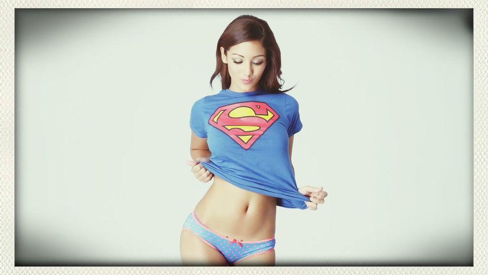 my idol! MelanieIglesias Model Superwoman