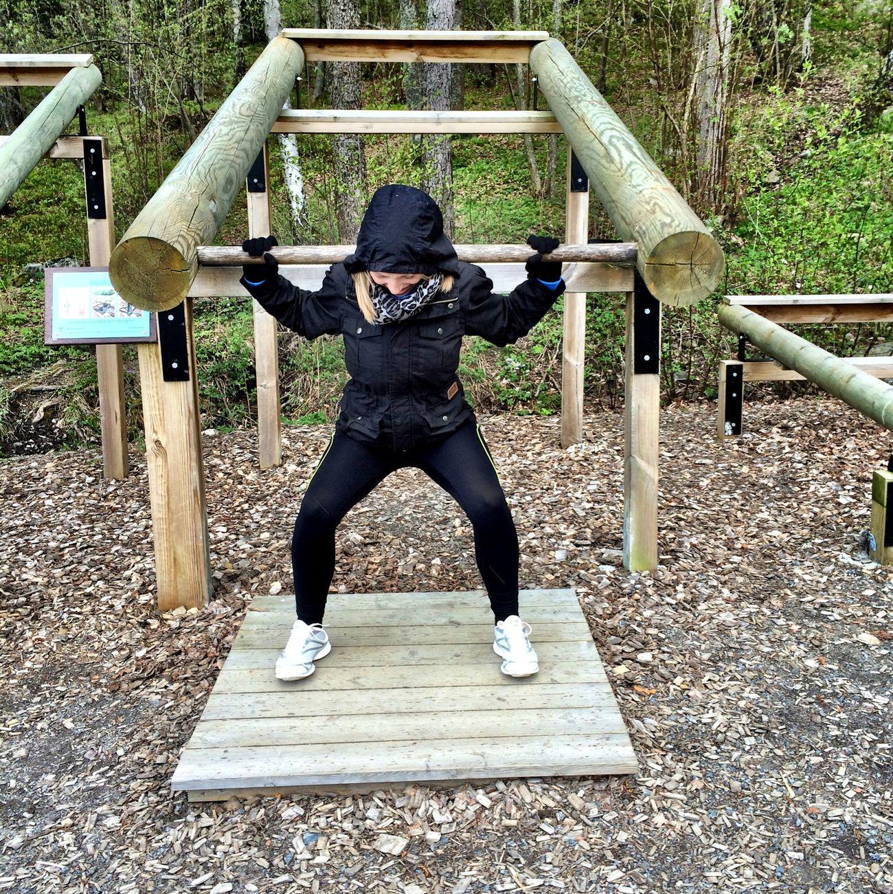 Workout Utegym Enjoying Life Fitness