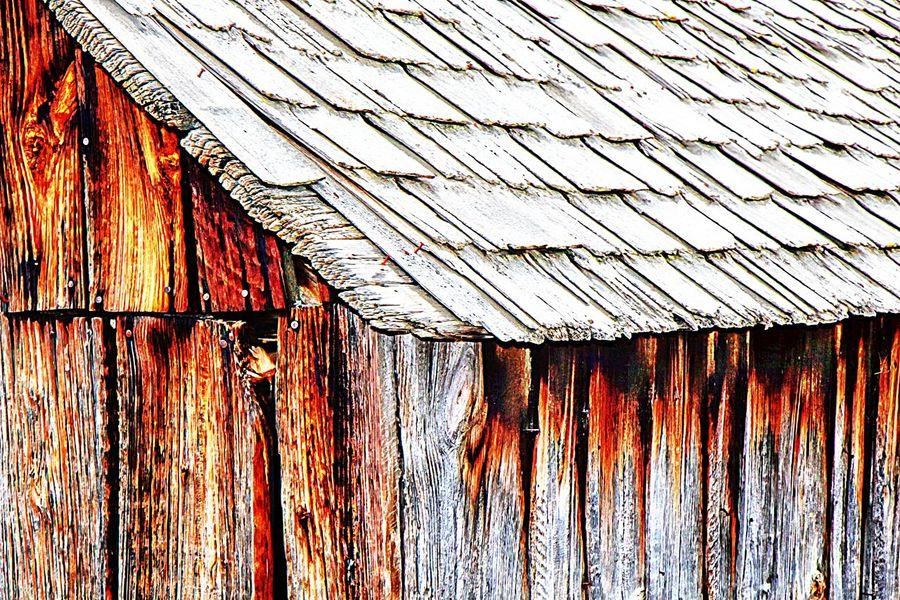 Barn Barn Roof Barns Impressionism Old Barn Pattern Roof Roof Shingles
