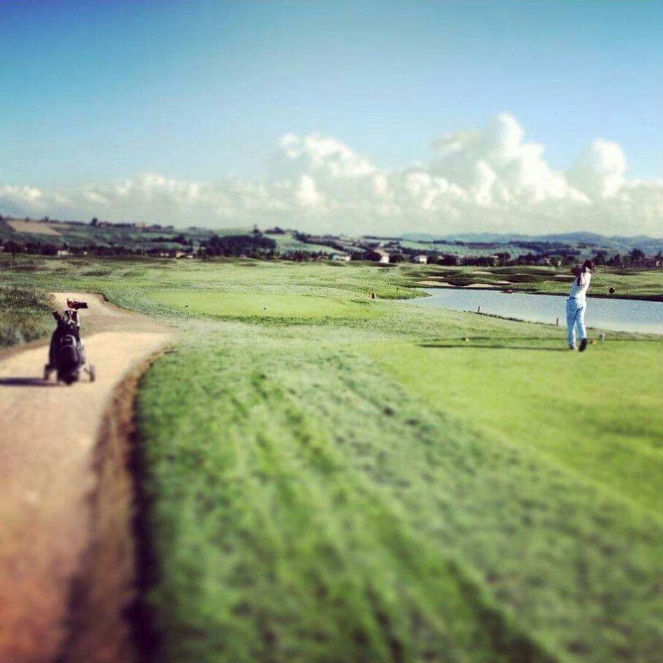 Golf Golf Is My Life ⛳️ Golfclub Playing Golf Play Green Green Golf Nature Summer Summertime