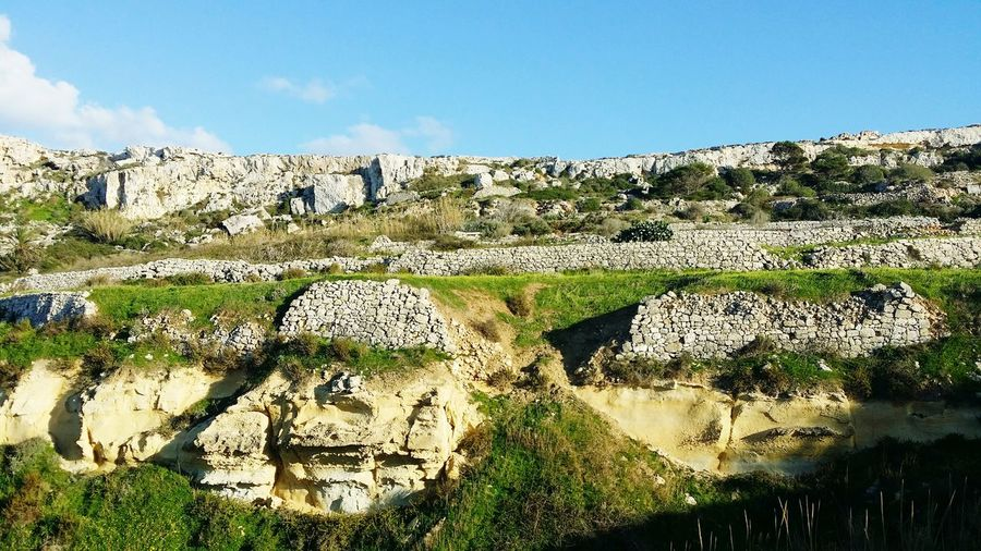 Malta Countryside Imgiebah Imgiebahbay Fields Mellieha Malta♥ Malta<3