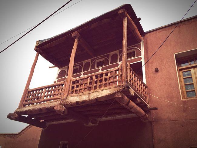 Balcony Oldhouse Muddy