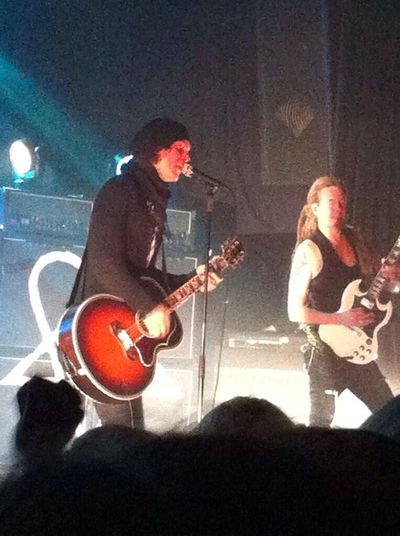 Best concert ever! Him Hisinfernalmajesty Ville Valo Villevalo Heartagram