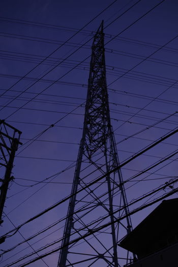 A Steel Tower A Pylon An Electric Wire Popular Photos