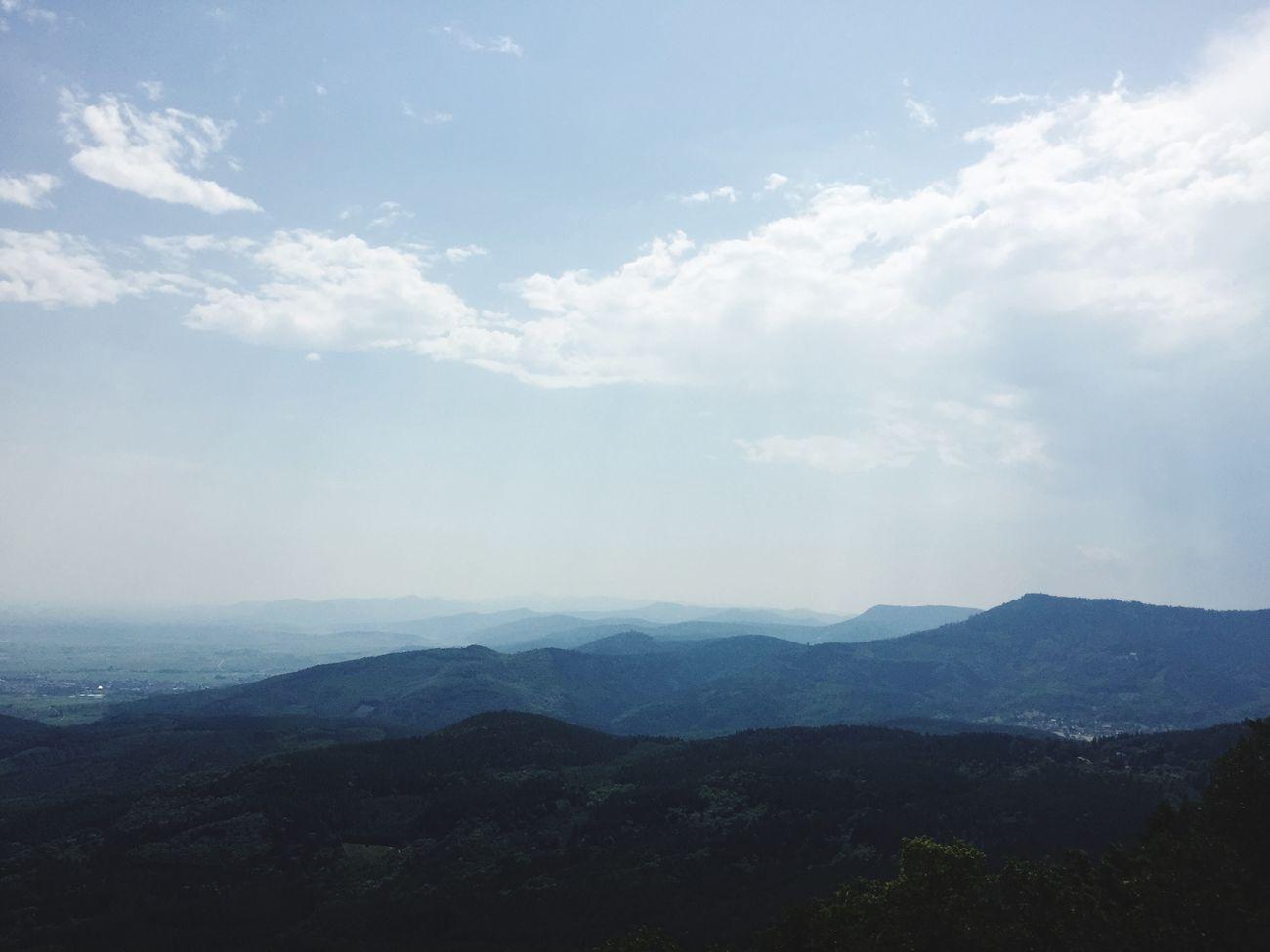 France Mountains Cloud