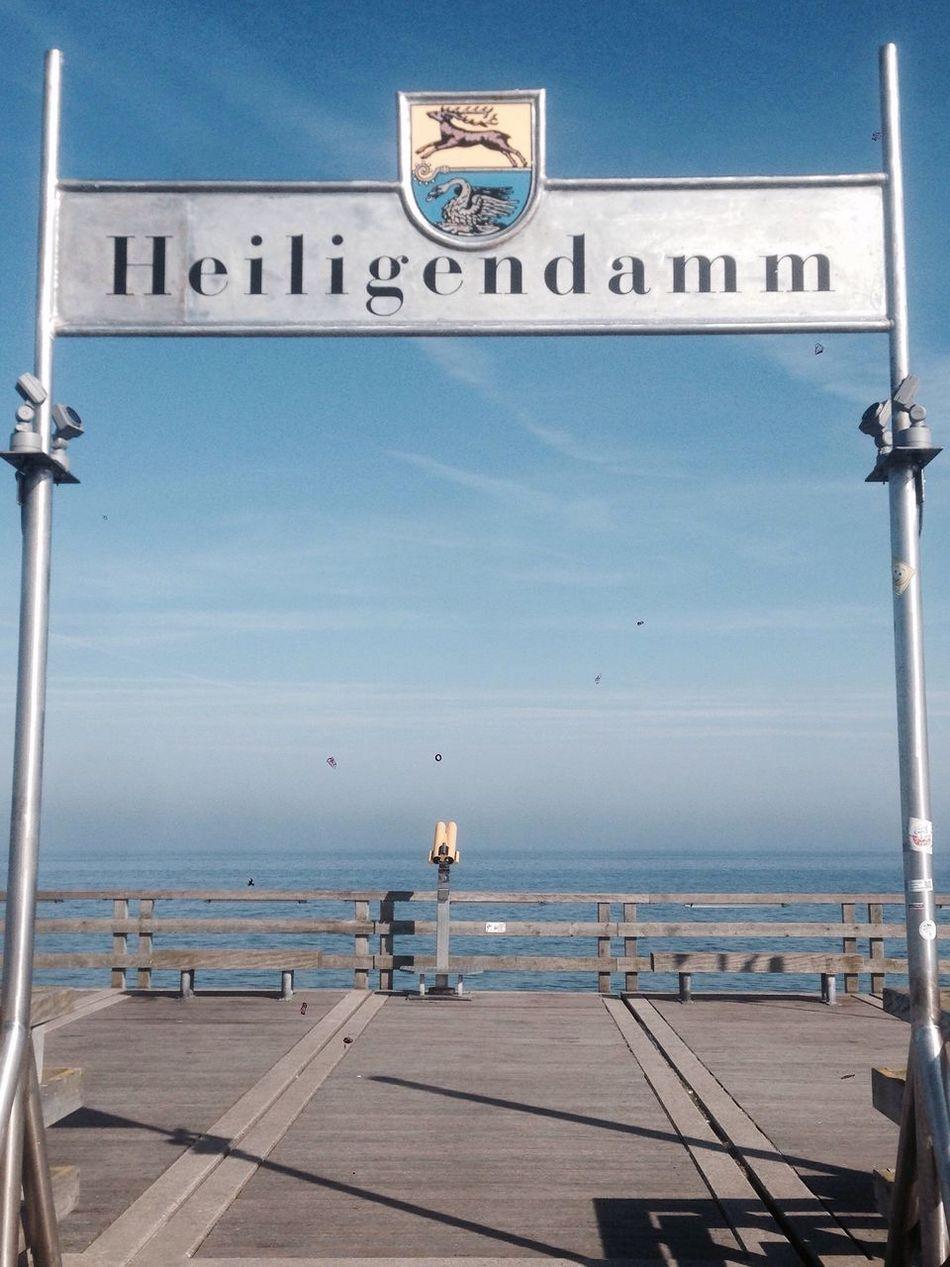Heiligendamm Sea Sea And Sky Baltic Sea Seebrücke Beautiful Day
