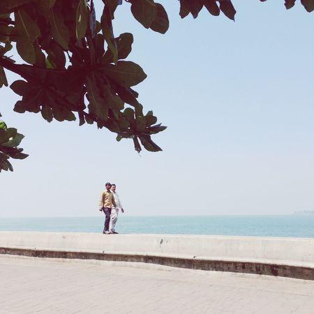 Sea Wall Arabian Sea