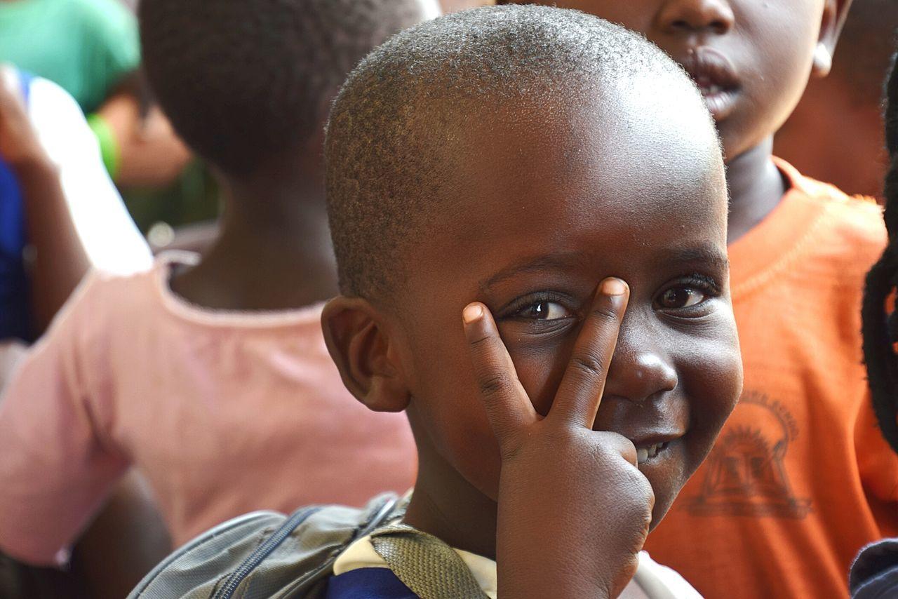 Close-up People Headshot Child Children Only Children School Outdoors Day Portrait Rushere Uganda