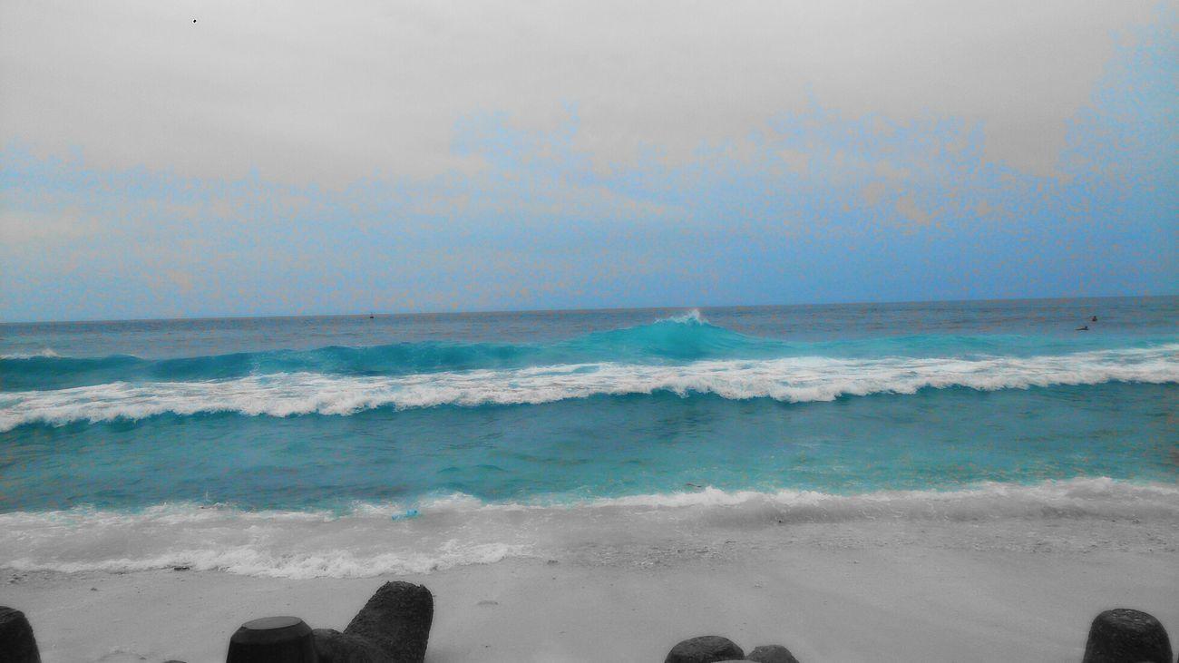 Sea And Sky Waves Nature Gloomy Weather