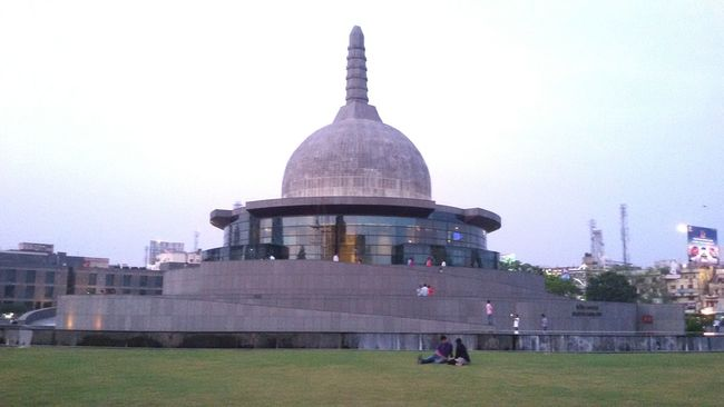 Buddha Park Arcitecture Buddha Stup