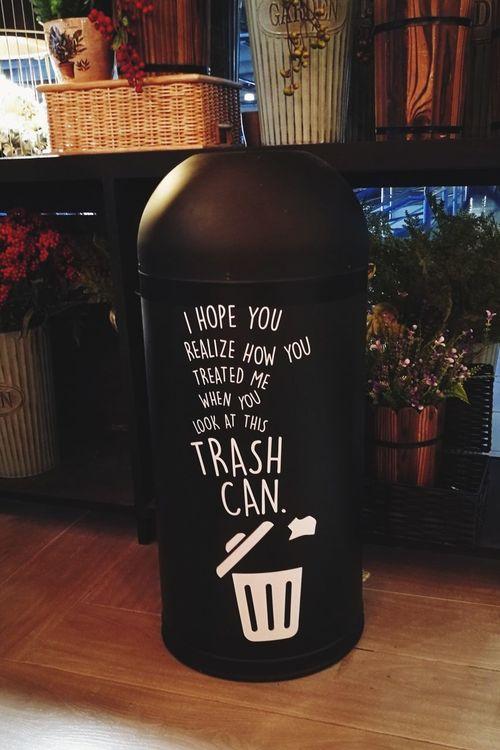 Trash talk. Trashart Hugot Hugot101 Urban Art Hipster Text Indoors