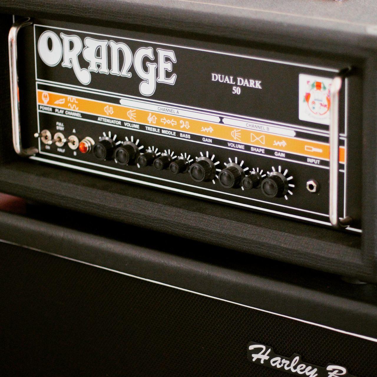 Orange Color Orange Ampere Ampli Music