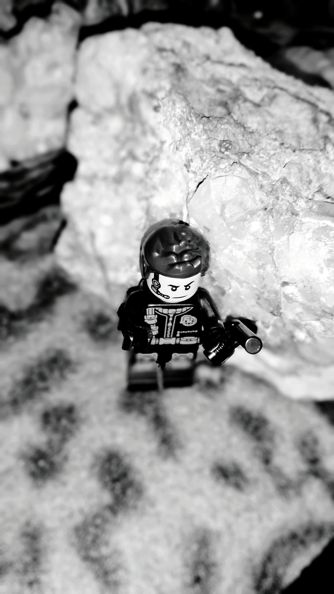 High Angle View Close-up Day No People Quartz Abstract Full Frame Indoors  Backgrounds LEGO Lego Minifigures Quartz Rocks Lego Man Mobilephone Photography Through My Lens Australianphotographer Fragility Growth