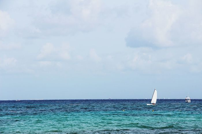 Holiday POV Playadelcarmen Beach Beachphotography Life Is A Beach Boats Sunset Nature Nature_collection Beautiful Nature