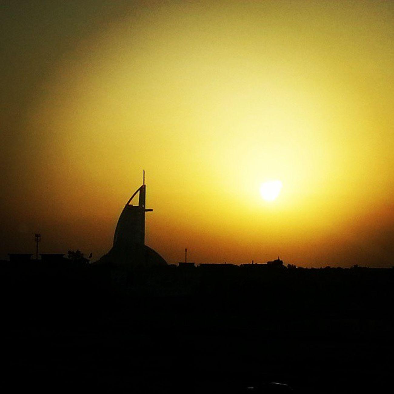 Sunset at Jumeirah