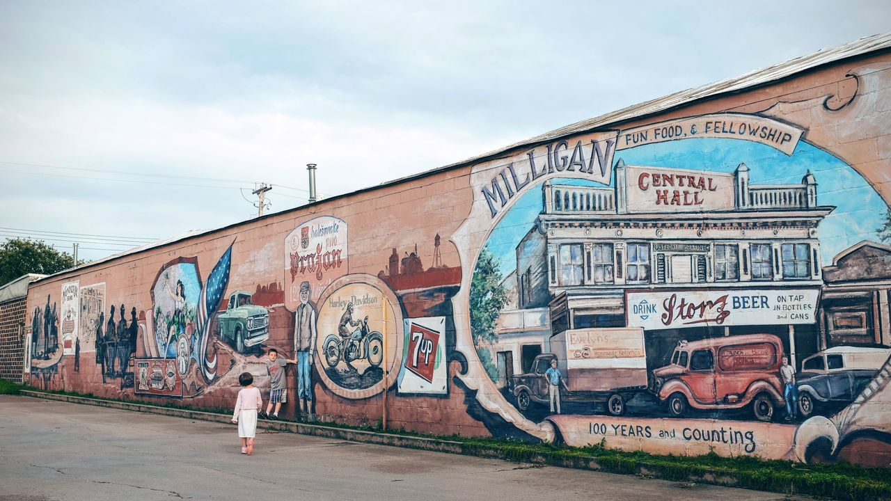 Photo essay, a day in the life. August 24, 2016 Milligan Nebraska 16x9 35mm Camera A Day In The Life Building Exterior Camera Work Check This Out Composition Details Everyday Lives Eye For Photography EyeEm Best Shots EyeEm Gallery EyeEm Nature Lover Eyeemphoto FujiX100S Multi Colored Mural Art Photo Essay Small Town Small Town Stories Small Town USA Storytelling Street Photography Streetphotography Two Is Better Than One
