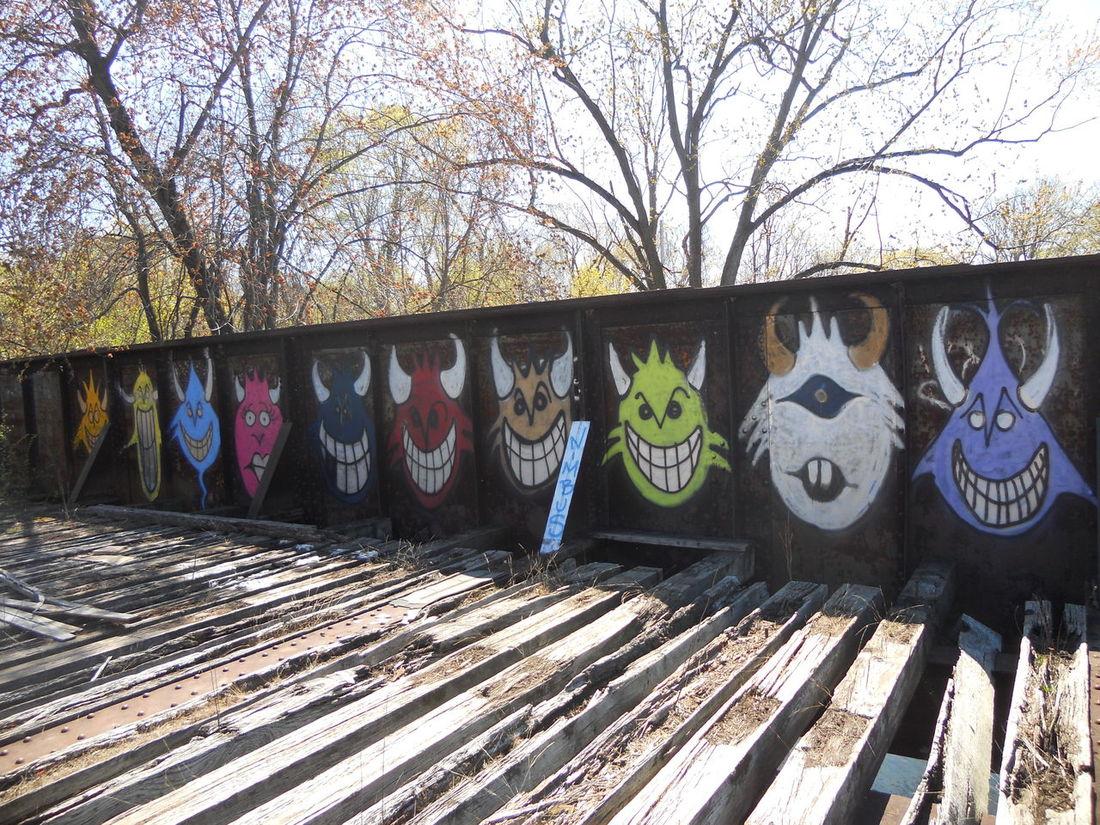 Troll Bridge Abandoned Places Tagging Urban Art Original Art Graffiti Creativity Shalograv Underground Art Art, Drawing, Creativity Artistic Expression Street Art Graphic Design Notes From The Underground Secret Places Stunning Shots EyeEm Best Shots Tagging It Up Graffiti Art My Hobby