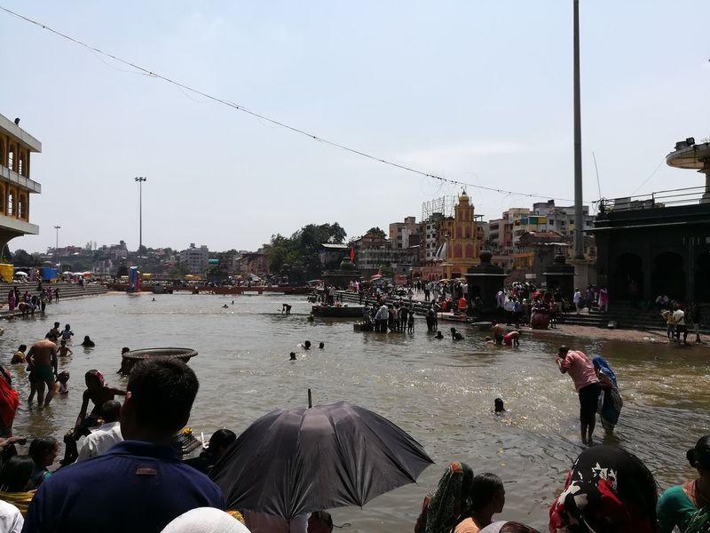 Godavari River Panchvati, Nasik. Travell Diaries Nasik Honorphotography clicked by Honor6x SaveRivers RallyForRivers GangaGodavariRaamKund