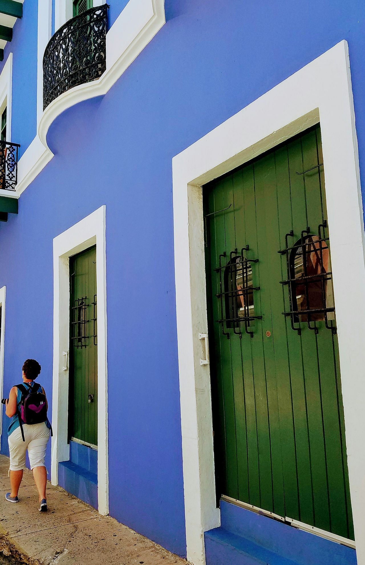 The Street Photographer - 2017 EyeEm Awards Minimalist Architecture The Architect - 2017 EyeEm Awards San Juan PR Architecture Light And Shadow Colors Of My City Perspective Lines And Angles Simplicity Simple Elegance Popular Door Minimalism Color Block Blue Urban Exploration