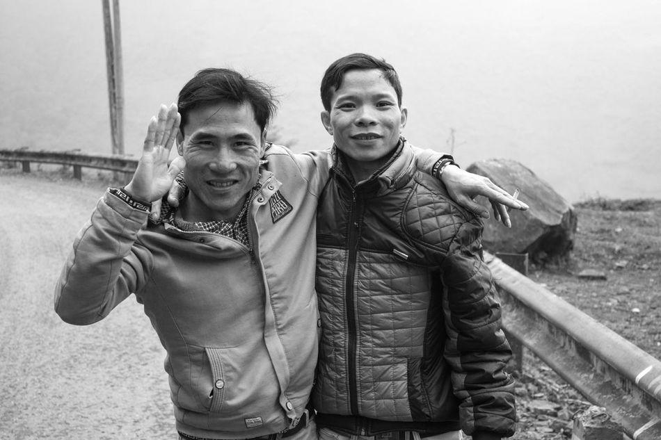 Vietnam People Photography Travel Bnw Happy Cheerful Random Encounter One World Friends