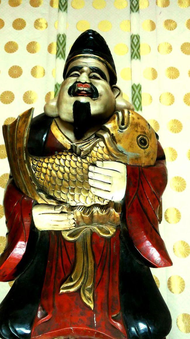 Shrine Shrine Of Japan Tokyo,Japan Hello World A God With A Potbelly Hoteisama Hotei Traditional Culture