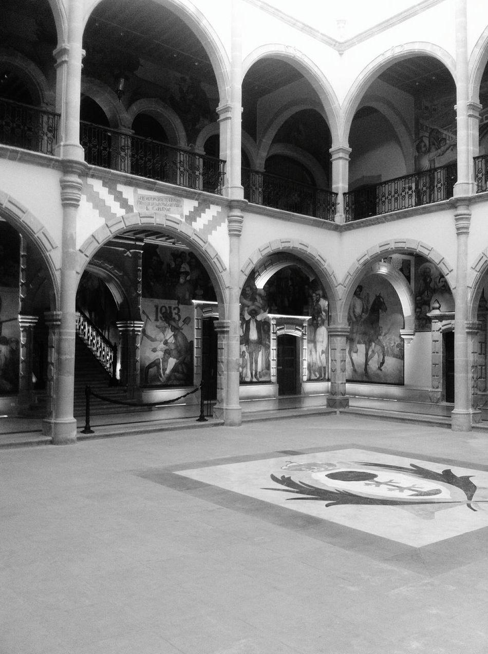 Museo Francisco Villa Durango, Durango Museum Colonial Architecture Blackandwhite