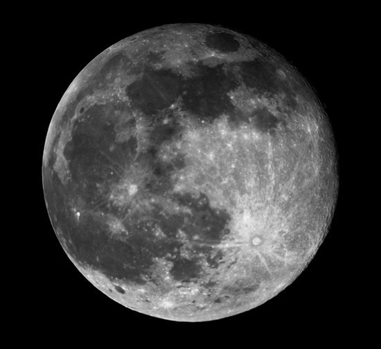 Full Moon 06-09-2017 Astronomy Astrophotography Celestron C8 Full Moon Moon Moon Surface Moonlight Nature Night Orion Atlas EQ-G Space Space And Astronomy Space Exploration Universe First Eyeem Photo