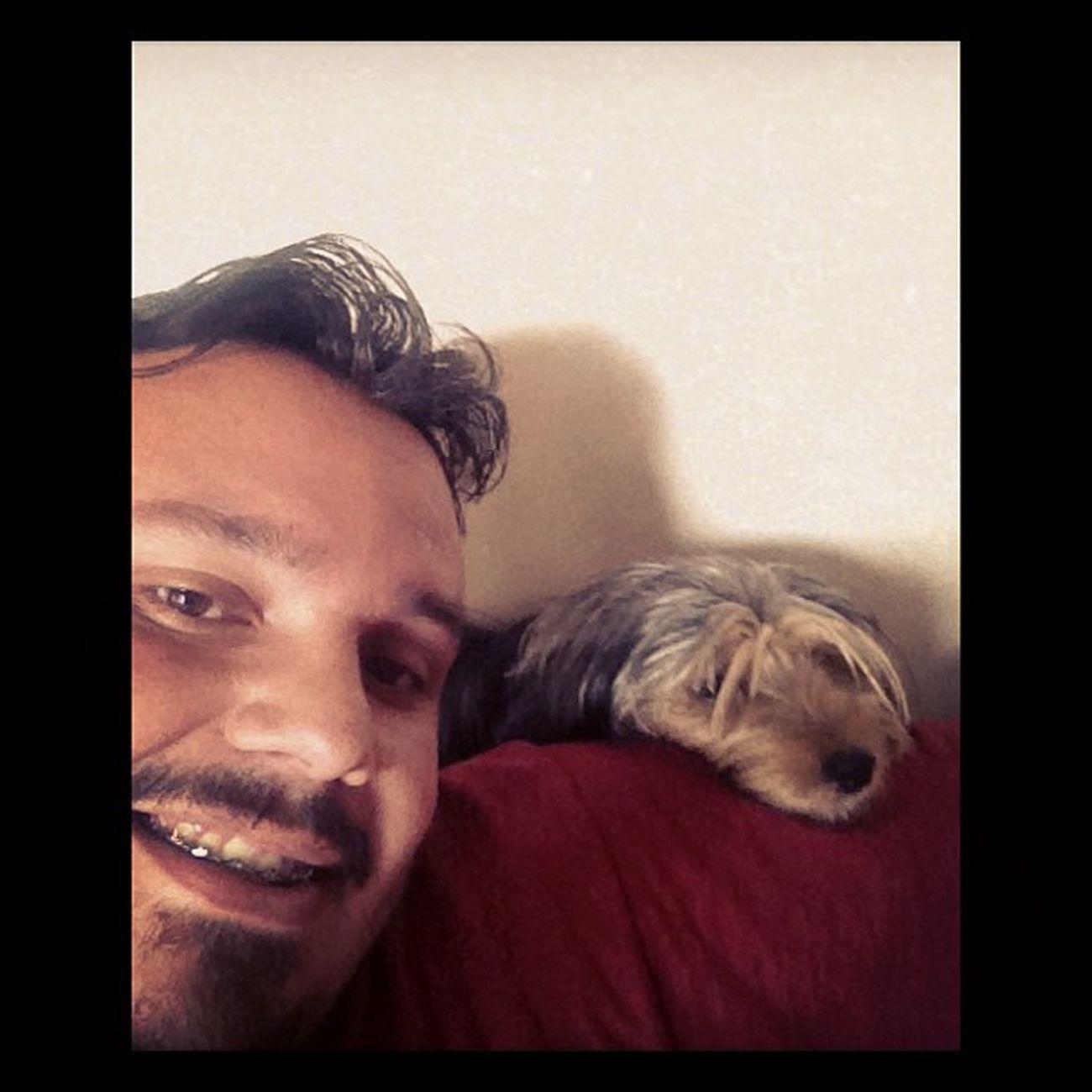 Dudinha!!!! Coisa rara pode acontecer!! Dog Insta_dog Sleep