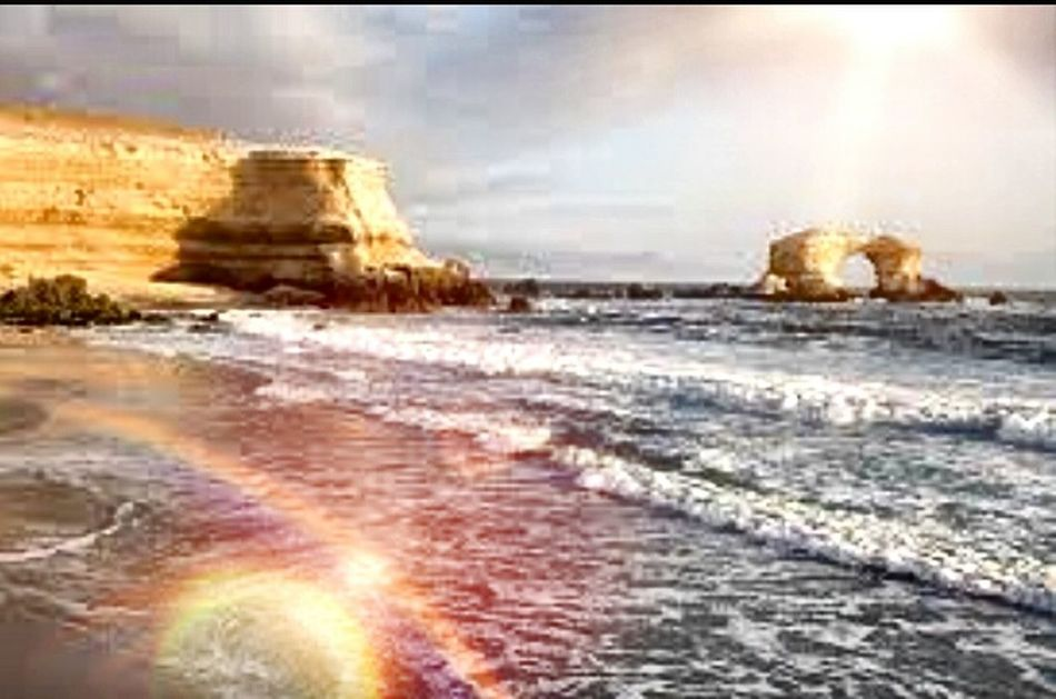 Hermosos lugares Beach Nature Sunlight Travel Destinations Day Sea Beachphotography Beach Sunset Wave Water Outdoors No People Scenics Sky Sand Beauty In Nature Horizon Over Water Building Exterior Photography Photooftheday Photographer Beautyinnature  Naturaleza