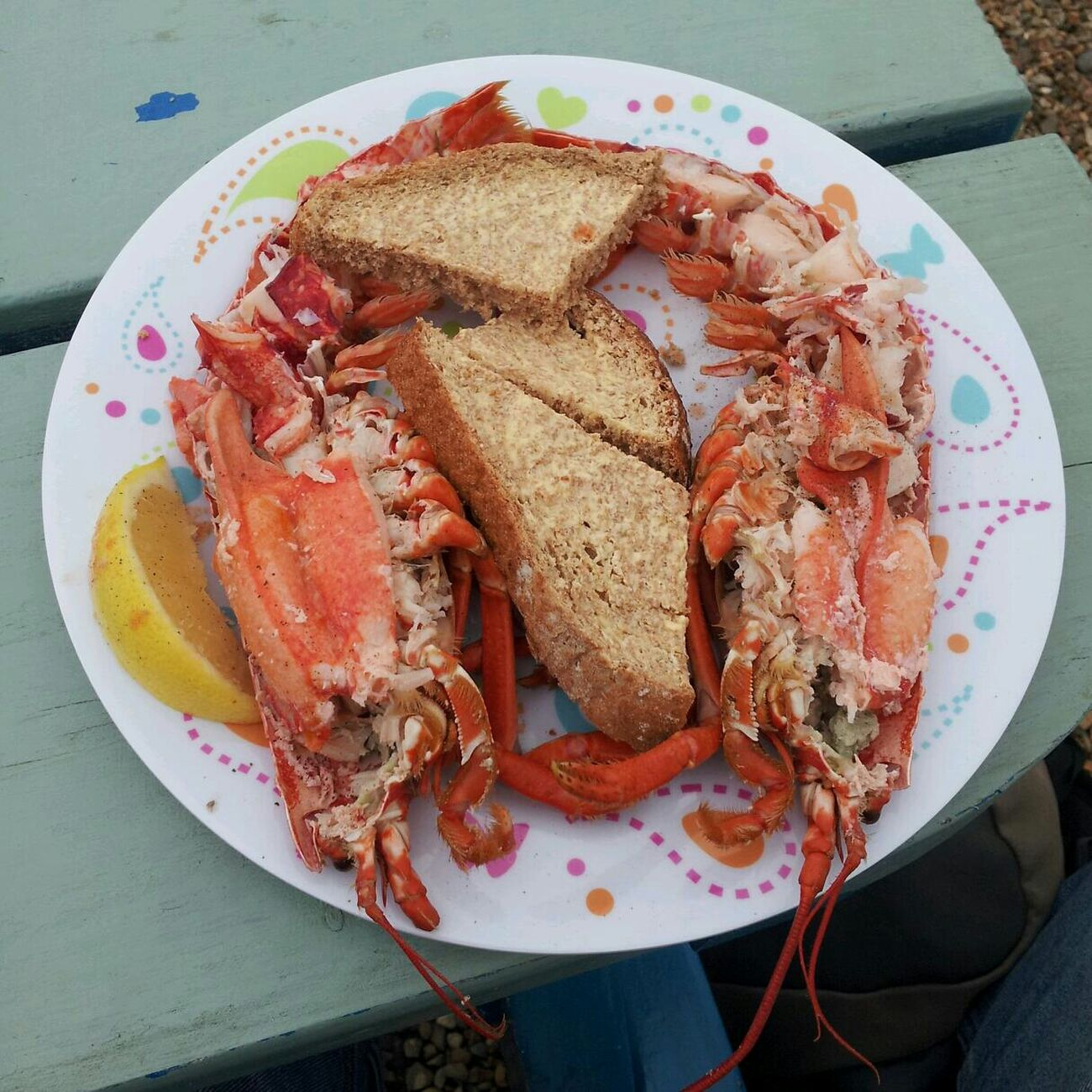 Fresh lobster for lunch. This is the life. Food Porn Awards